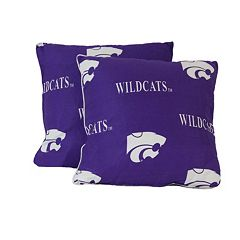 College Covers Kansas State Wildcats 16' Decorative Pillow Set