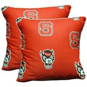 College Covers North Carolina State Wolfpack 16' Decorative Pillow Set
