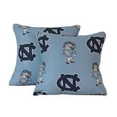 College Covers North Carolina Tar Heels 16' Decorative Pillow Set