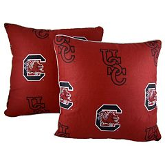 College Covers South Carolina Gamecocks 16' Decorative Pillow Set