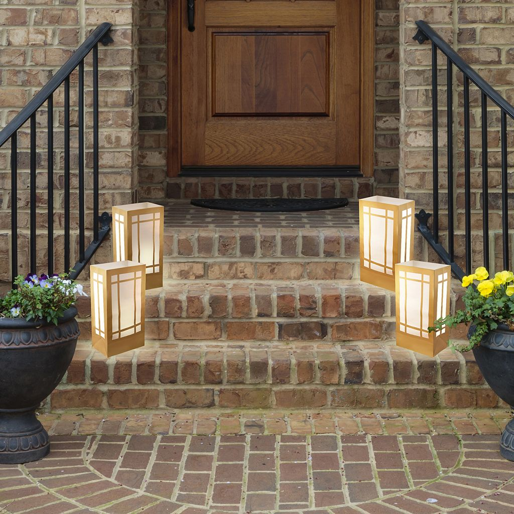 LumaBase 24-pk. Lantern Paper Luminaria Bags - Indoor and Outdoor