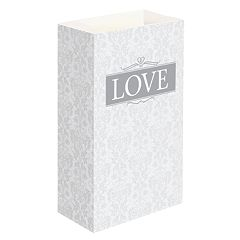 LumaBase 24-pk. 'Love' Luminaria Bags - Indoor & Outdoor