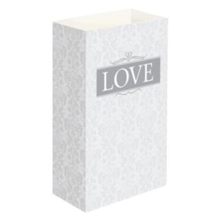 LumaBase 24-pk. Love Luminaria Bags - Indoor and Outdoor