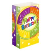 "LumaBase 24-pk. ""Happy Birthday"" Paper Luminaria Bags - Indoor & Outdoor"