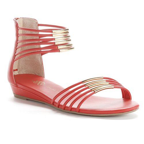 Rock & Republic® Gladiator Wedge Sandals - Women