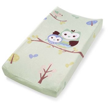 Summer Infant Who Loves You Owl Changing Pad Cover