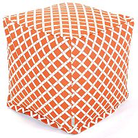 Majestic Home GoodsGeometric Indoor Outdoor Small Cube Ottoman