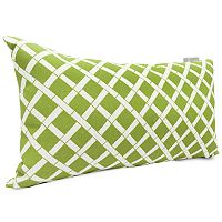 Majestic Home Goods Geometric Indoor Outdoor Small Decorative Pillow