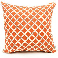 Majestic Home Goods Geometric Indoor Outdoor Large Decorative Pillow