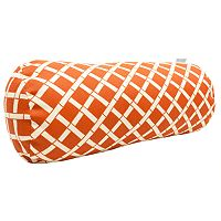 Majestic Home Goods Geometric Indoor Outdoor Decorative Bolster Pillow