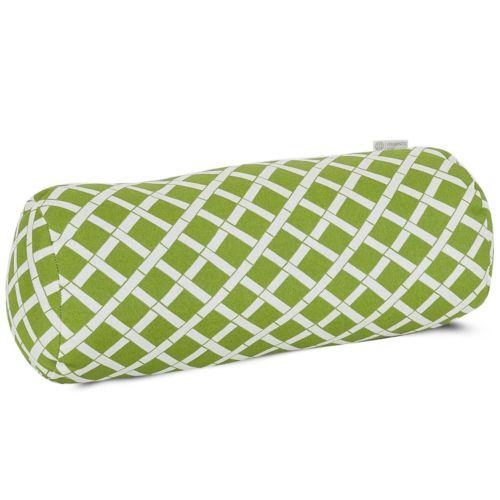 Majestic Home Goods Geometric Indoor Outdoor Decorative Bolster Pillow