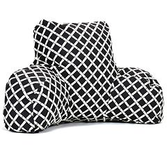 Majestic Home Goods Geometric Indoor Outdoor Reading Pillow