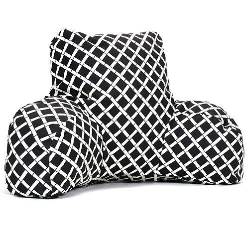 Majestic Home Goods Geometric Indoor Outdoor Reading Pillow