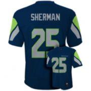 Seattle Seahawks Richard Sherman NFL Jersey - Boys 8-20