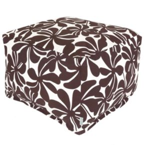 Majestic Home Goods Plantation Indoor Outdoor Large Ottoman