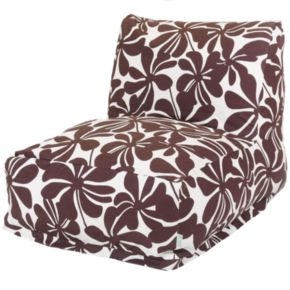 Majestic Home Goods Plantation Indoor Outdoor Beanbag Chair Lounger
