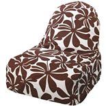 Majestic Home Goods Plantation Indoor Outdoor Kick-It Chair