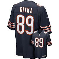 Men's Nike Chicago Bears Mike Ditka Game NFL Replica Jersey