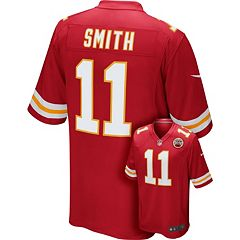 Men's Nike Kansas City Chiefs Alex Smith Game NFL Replica Jersey