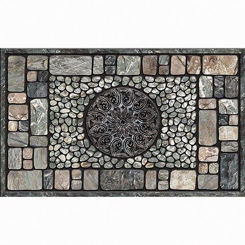 Apache Mills Masterpiece Notre Dame Stone Doormat - 18'' x 30''