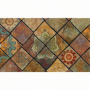 Apache Mills Masterpiece Macedonia Tiled Doormat - 18'' x 30''