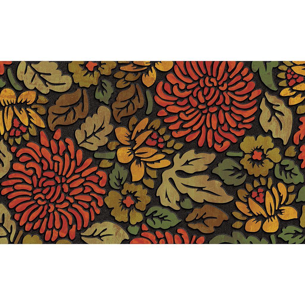 Apache Mills Masterpiece November Bloom Doormat - 18'' x 30''