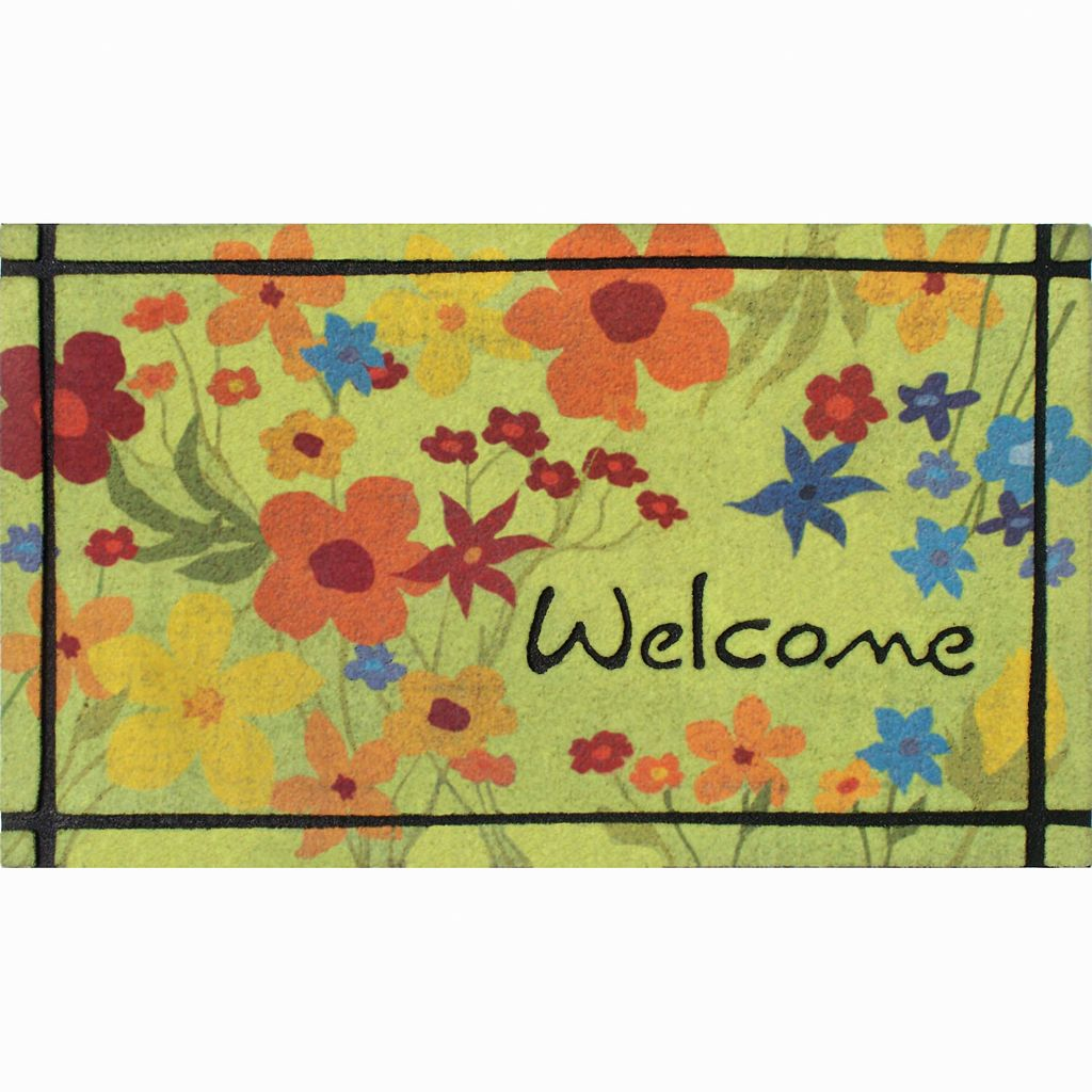 Apache Mills Masterpiece Wildflower Doormat - 18'' x 30''