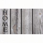 Apache Mills Masterpiece 'Home' Wood Doormat - 18'' x 30''
