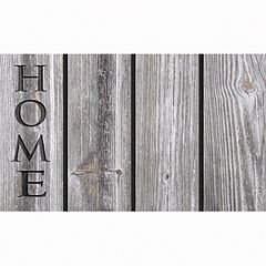 Apache Mills Masterpiece 'Home' Wood Doormat - 18'' x 30''