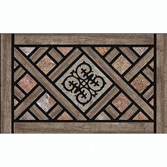 Apache Mills Masterpiece Rustic Lattice Doormat - 18'' x 30''