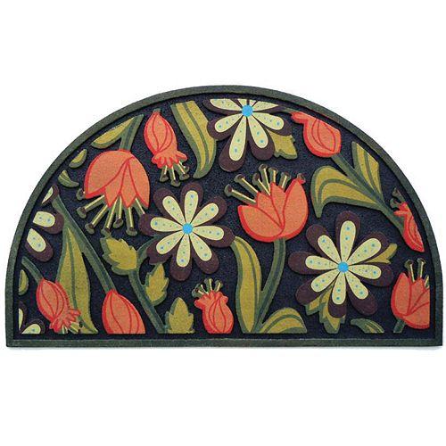 Apache Mills Masterpiece Floral Doormat - 18'' x 30''