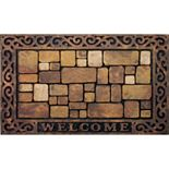 "Apache Mills Masterpiece Aberdeen ""Welcome"" Doormat - 18'' x 30''"