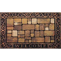 Apache Mills Masterpiece Aberdeen 'Welcome' Doormat - 18'' x 30''