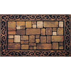 Apache Mills Masterpiece Aberdeen Stone Doormat - 18'' x 30''