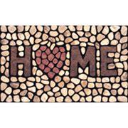 Apache Mills Masterpiece 'Home' Stone Doormat - 18'' x 30''