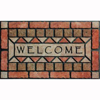 Apache Mills Masterpiece Welcome Stones Doormat - 18'' x 30''