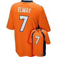 Men's Nike Denver Broncos John Elway Game NFL Replica Jersey