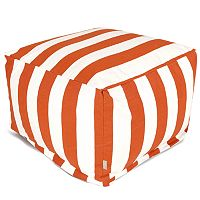 Majestic Home Goods Striped Indoor Outdoor Large Ottoman