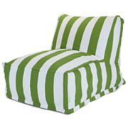 Majestic Home GoodsStripedIndoor Outdoor Beanbag Chair Lounger