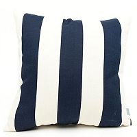 Majestic Home Goods Striped Indoor Outdoor Throw Pillow