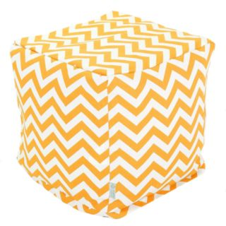Majestic Home Goods Chevron Indoor Outdoor Small Cube Ottoman