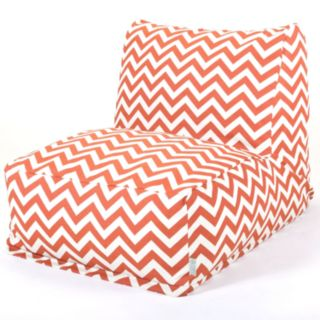 Majestic Home Goods Chevron Indoor Outdoor Beanbag Chair Lounger