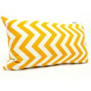 Majestic Home Goods Chevron Indoor Outdoor Small Decorative Pillow