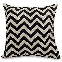 Majestic Home Goods Chevron Indoor Outdoor Throw Pillow