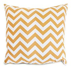 Majestic Home Goods Chevron Indoor Outdoor Throw Pillow
