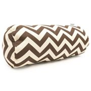 Majestic Home Goods Chevron Indoor Outdoor Bolster Pillow