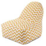 Majestic Home Goods Chevron Indoor Outdoor Kick-It Chair