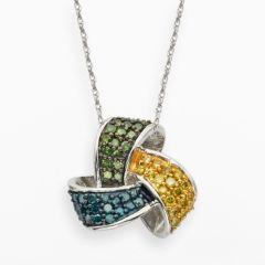 diamond necklaces kohls