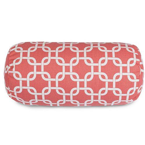 Majestic Home Goods Links Indoor Outdoor Decorative Bolster Pillow