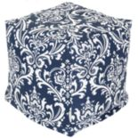 Majestic Home Goods French Quarter Indoor Outdoor Small Cube Ottoman